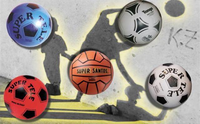 Giocattoli del passato: i palloni Tango e Super Tele