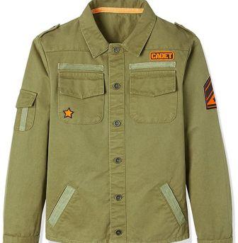 Guardaroba estate: giacca bimbo stile militare