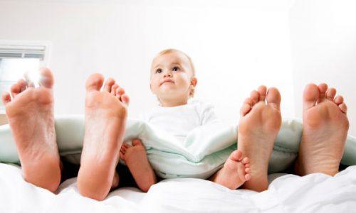 Dormire bene con un bebè in casa è possibile