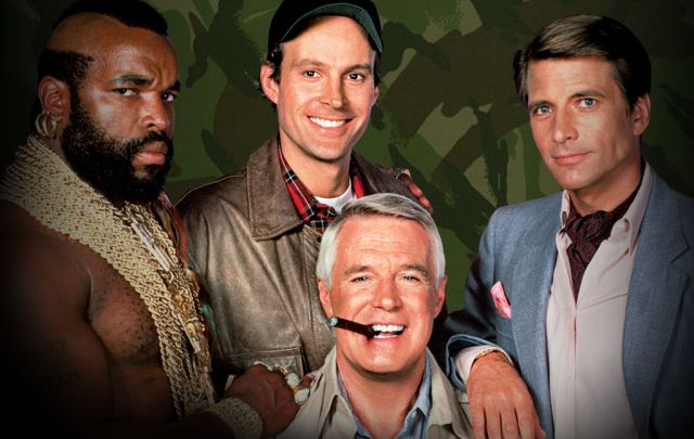 Serie tv anni 80: l'A-Team
