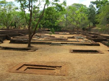Sri Lanka: gli scavi di Sigiriya