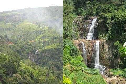 Meraviglie dello Sri Lanka: le cascate