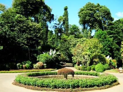Sri Lanka: l'ingresso del giardino botanico