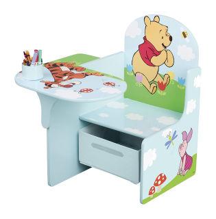 Occorrente per la cameretta: sedia con tavolo e cassetto