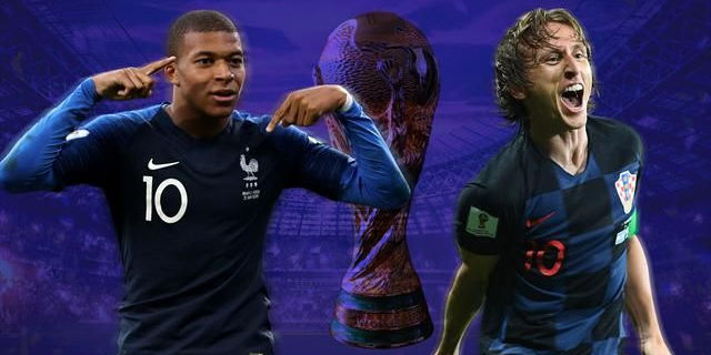 Mondiale 2018: le finaliste Francia e Croazia