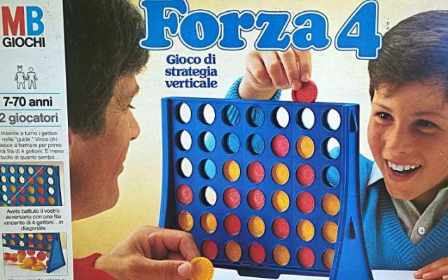 Giochi da tavolo: Forza 4