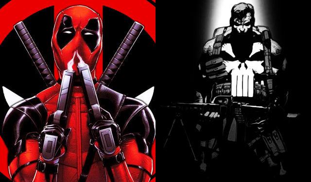 I miei supereroi preferiti: Deadpool e il Punitore