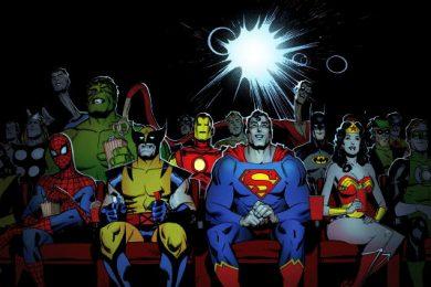 I supereroi di una vita passata a leggere fumetti