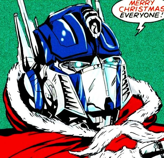 Buon Natale 2018 da parte di Optimus Prime