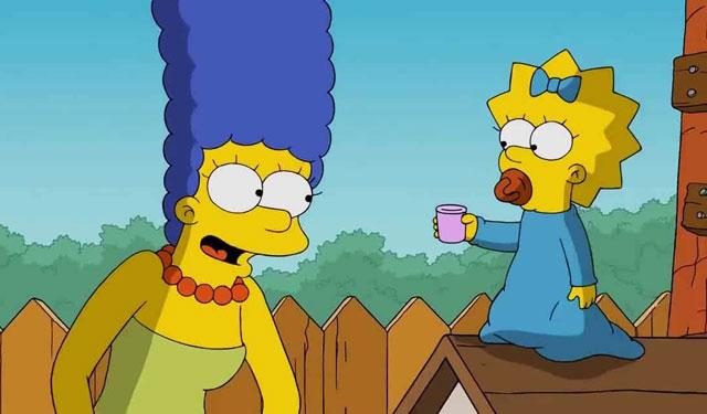 Supereroine: Marge e Maggie Simpson