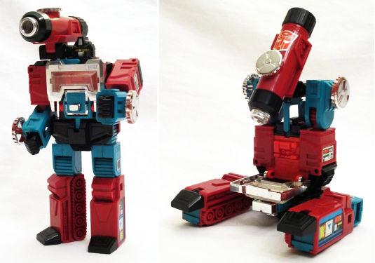 Transformers strani: Perceptor