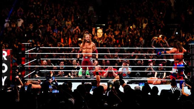 wrestling, edge alla royal rumble 2020