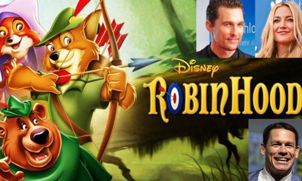 Robin Hood della Disney in live action: il fanta cast