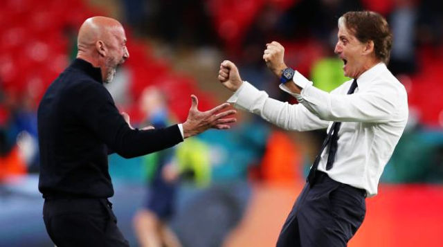 Euro 2020: Vialli e Mancini