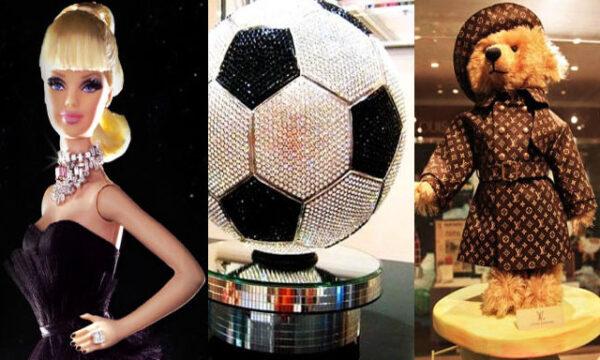Giocattoli mostruosamente costosi: la top 10